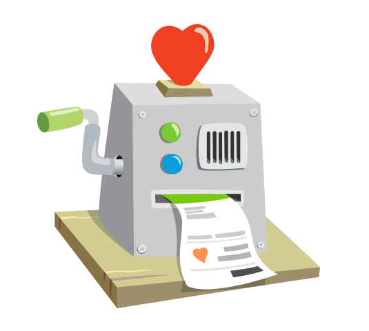 Payroll giving icon