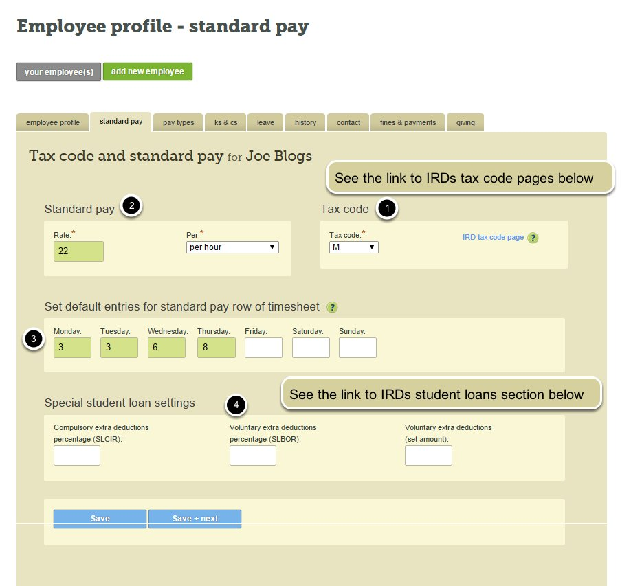 how to pay your employees tax